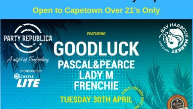 Photo of Win a set of Double tickets to Party Republica Capetown ft. GOODLUCK – CLOSED