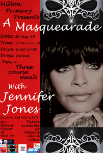 Jennifer Jones, A Masquerade @ Milton School Hall