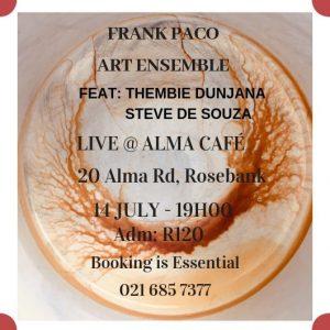 Frank Paco Art Ensemble @ Alma Cafe