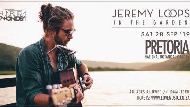 Photo of Sunburn & Wonder presents Jeremy Loops Live in the Garden ft. Matthew Mole on Saturday 28 September in Pretoria