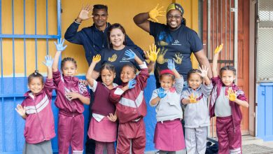 Photo of GrandWest revamps the Kalksteenfontein Primary School's Library