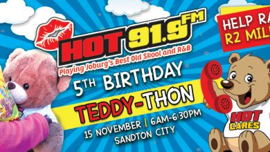 Photo of It's Hot 91.9FM's Teddy-Thon time this 15th November