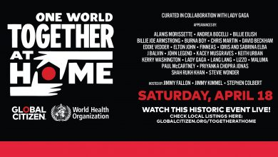 Photo of World Health Organization (WHO) & Global Citizen Announce: 'One World: Together at home' Global special