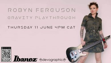 Photo of South African Prog Prodigy Robyn Ferguson to premier playthrough video for GRAVITY Thursday 4pm CAT