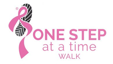 Photo of Hot 91.9FM and The Breast Health Foundation invite you to walk for Cancer in the annual 'One Step at a Time' virtual walk initiative