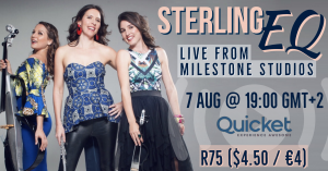 Sterling EQ - Together at Mother City Milestones Livestream @ Milestone Studios in Cape Town