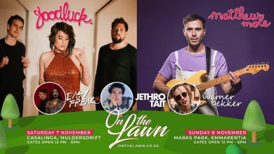 Photo of 'On the Lawn' is enhancing your live concert experience this weekend as Matthew Mole & GoodLuck now perform together at Casalinga and Marks Park