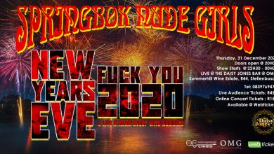 Photo of Springbok Nude Girls announce a live performance event for New Year's Eve 2020 in Stellenbosch