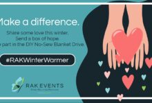 Photo of RAK Events Challenges Corporates vs. Privates in 2021's Winter Warmer Blanket Drive