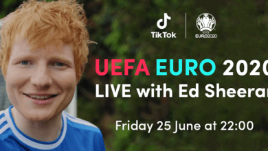 Photo of Ed Sheeran To Perform At The TikTok UEFA Euro 2020 Show On Friday 25 June Available only from Ed's TikTok channel
