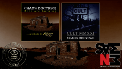 Photo of South African Industrial Thrashers Chaos Doctrine are back today with dual-singles and videos for 'Cult MMXXI' and 'Beds Are Burning' Tribute to Midnight Oil