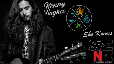 Photo of New Single 'She Knows' Out Today from SA Blues Rock Extraordinaire Kenny Hughes (Produced & ft Evert Snyman)